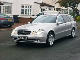 Mercedes Benz e320 cdi avant-garde,satnav,leather,full service history