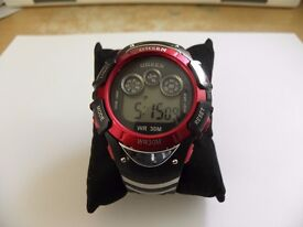 GENTS 'OHSEN' DIVING SPORTS DIGITAL WATCH