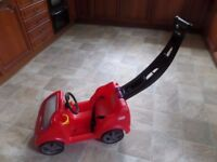 Little Tikes Cosy Coupe Car with push handle Collection from DY5 area £25.00