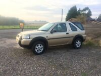 Land Rover Freelander 2.0 td4 , S ,h/b 3 door , 2004 , 54 plate