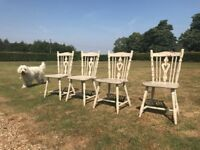 Dining Room Chairs (Shabby Chic/Upcycle Project)