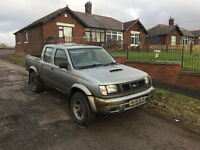 2001 Nissan Navara crew cab D22 Engine Early Model taxed n tested ideal export £1075 ovno