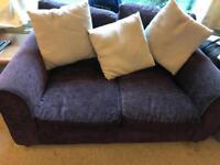 Twin set 2 seater sofas