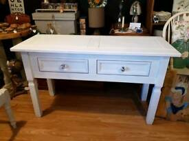 Whie Console / Hall Table / Dressing Table