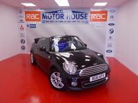 MINI Convertible COOPER (AUTOMATIC) FREE MOT'S AS LONG AS YOU OWN THE CAR!!! (black) 2011
