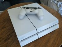 PS4 | White | 500GB | 'C-Chassis' Model (Quieter than Launch) | Collection Only