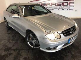 MERCEDES-BENZ CLK 3.0 CLK320 CDI Sport 7G-Tronic 2dr Auto (silver) 2009