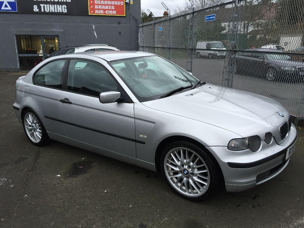2001 BMW 316TI SE 18MSPORT WHEELS LOW MILEAGE MOT HIGH SPEC