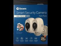 Brand new smart security cameras control listen view from anywhere on your phone