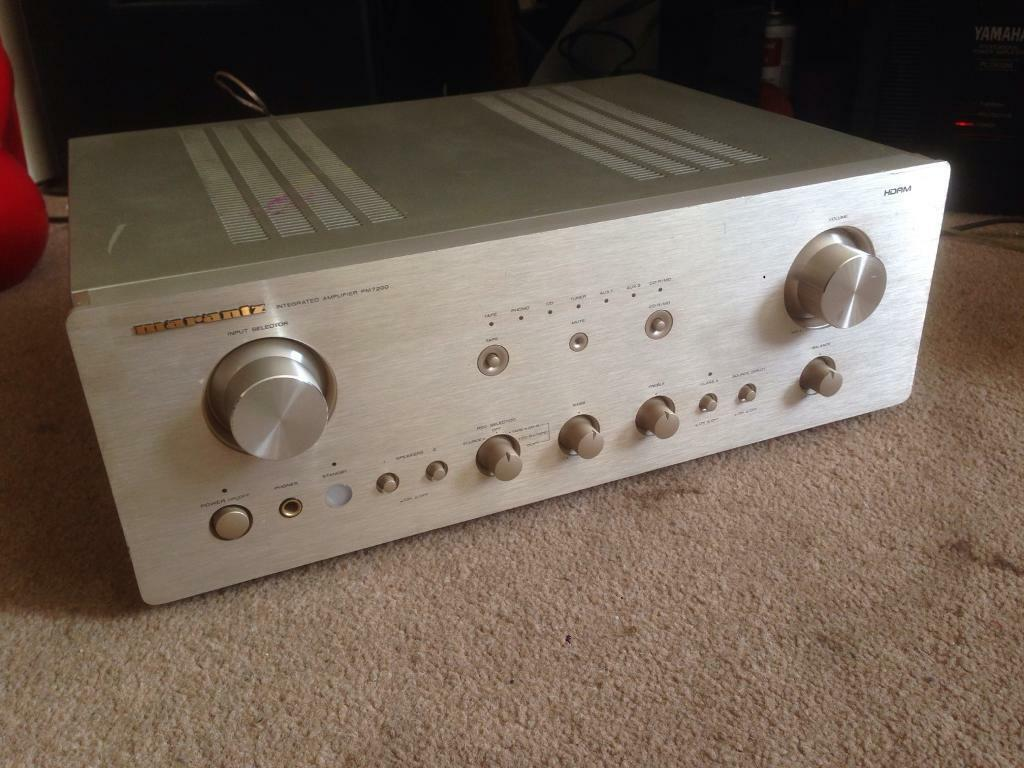 Marantz PM7200 High End Integrated Hifi Amplifier | in Stratford, London |  Gumtree