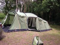 The Vango Maritsa 700 - 7 Man Family Tent