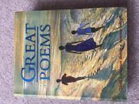Great Poems - Good condition RRP £14.99