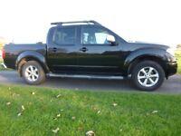 Nissan Navara Tekna Model 2009 Black , Top Spec !! No VAT !!