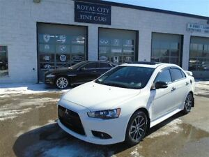 2015 Mitsubishi Lancer SE $147 Bi-Weekly Manual Leather Sunroof