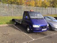 1997 Ford Transit 190 Lwb recovery turck with winch