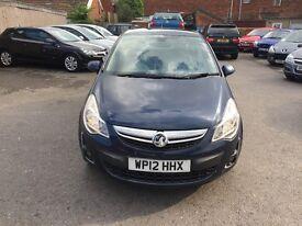 Vauxhall Corsa 1.2 i 16v SE 5dr (a/c)2012 (12 reg), Hatchback£2950