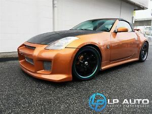 2005 Nissan 350Z Convertible w/ Lots of Extras!! Easy Approvals!