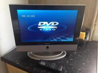 DMTECH TV + Built In DVD Player
