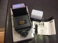 Sunpak Auto 383 Super Flash - Boxed and mint with diffuser