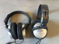'Audio Technica ATH-T22' headphones. Two pairs for £20, bargain.