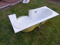 TWINLINE 1 - Luxury Artweger Walk-In Acrylic Rounded Bath
