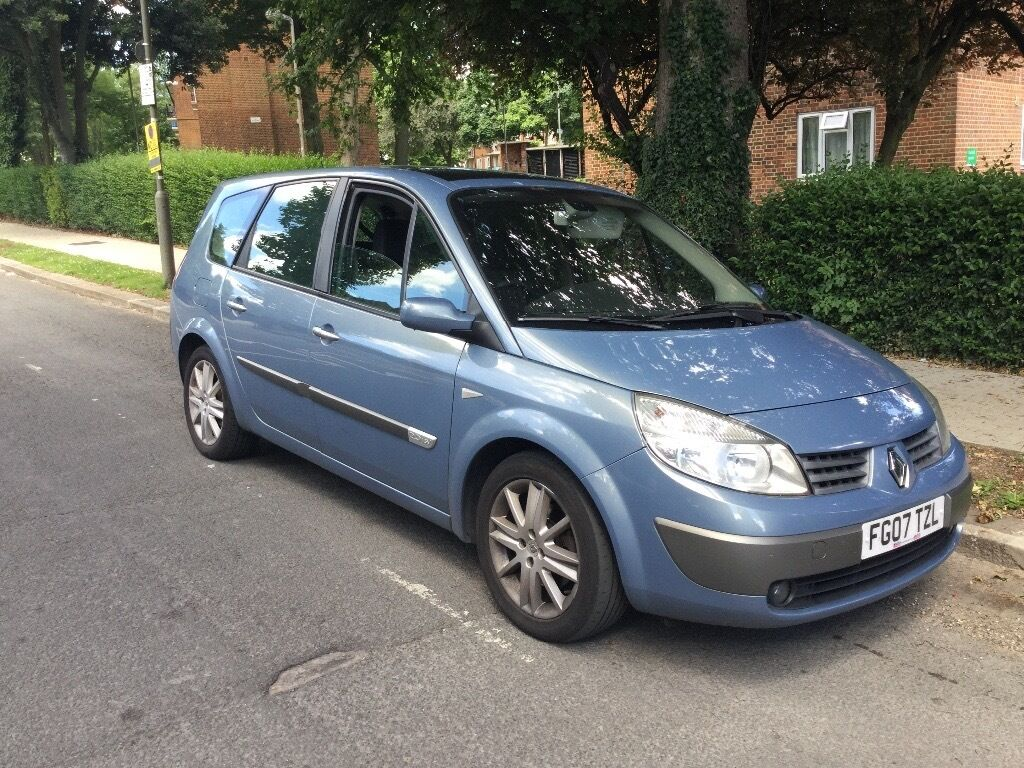 2007 renault grand scenic automatic 7 seater very nice car 40 mpg in putney london gumtree. Black Bedroom Furniture Sets. Home Design Ideas