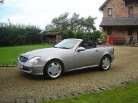 Mercedes Slk, 2003 (53) Silver Convertible, Manual 6 speed, Petrol, 72k miles