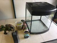 Aqua Start 320 Fish tank with accessories