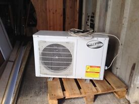 5kw air source heat pump for swimming pool or fish pond