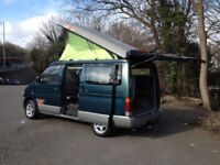 HI SPEC MAZDA BONGO DAY CAMPER SURF BUS/BRAND NEW SIDE REAR KITCHEN CONVERSION/LOW MILES