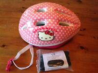 Hello kitty cycle helmet