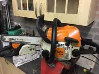 Stihl ms180 chainsaw