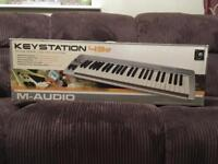 M-Audio Keystation 49e midi USB controller/keyboard