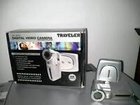 Digital video camera with mp 3 player