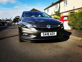 2018 VAUXHALL ASTRA SRI NAV 1399 Petrol Manual ==JUST 600 MILEAGE!!!==