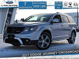 2017 Dodge Journey CROSSROAD**AWD*7 PLACES*BLUETOOTH*A/C**