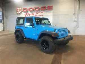2018 Jeep Wrangler JK Sport Hardtop / AIR Cond / Lift / Wheels