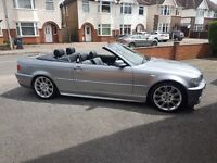 BMW 330CI SPORTS CONVERTIBLE LOW MILEAGE FOR SALE OR SWAP BMW E30