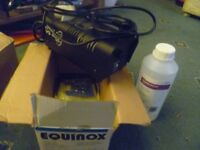 Equinox pro Smoke machine new in box with a litre of fluid