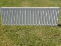 UNFITTED SINGLE PANEL RADIATOR 400h x 1200l Single Radiator (K1) TWO AVAILABLE