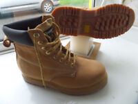 GRAFTERS STEEL TOE SAFETY WORK BOOTS SIZE 7 NEVER WORN, AS NEW, £10