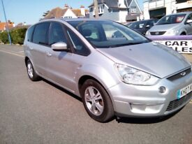 2007 FORD S-MAX 2.0 DIESEL MANUAL 3 Months Warranty Available