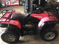 Honda trx 350es 4x4 quad