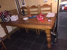 Lovely Solid Kitchen Table