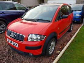 Audi A2 - Colour Storm - Misano Red - TDi 90 - Cruise - DIS - Parking Sensors - £1000's spent