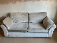 Lee Longlands 2-seater sofa - grey