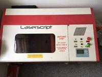 HPC Laserscript 6030 Laser Cutter/Engraver with Air Pump, Water Pump & Tank