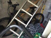 A dawe mountain bike never been used.
