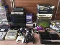 Gaming Joblot PlayStation Xbox Nintendo Sega