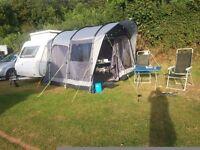 Camper van or pop top caravan awning . Used only twice.
